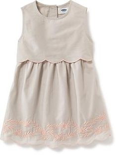 2-in-1 Embroidered Dress for Girls | Old Navy
