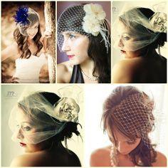 Pazza Idea: L'acconciatura sposa con accessori e veletta