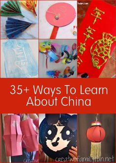 Creative Family Fun: 35+ Ways to Learn About China