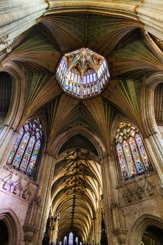 Ely Cathedral ceiling - One of the most beautiful churches I have ever seen