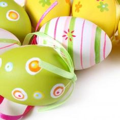 Colorful Easter Eggs 2048x2048 iPad wallpapers and Backgrounds