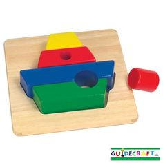 Guidecraft Primary Puzzles Boat, £11.99.