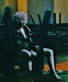 Madonna as Breathless Mahoney (Candid)