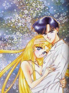 Mamoru protects his Usagi ❤