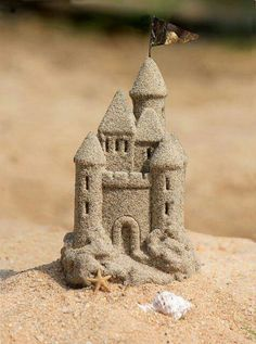 lil bitty sand castle