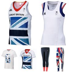 Team GB Official adidas Athletics Kit