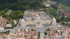 A Terceira Dimensão - Fotografia Aérea: Convento de Mafra