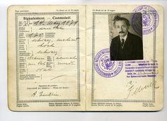 Albert Einstein's 1923 Swiss passport, via the Historisches Museum Bern (1650px)