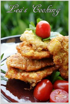 "Lea's Cooking: Russian Meat Patties ""Otbivnie"" {Свиные Oтбивные} Tender, juicy pieces of pork fried in a pan, will please you and your guests with the taste and appearance."