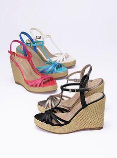 T-strap Espadrille Sandal - Colin Stuart - Victoria's Secret