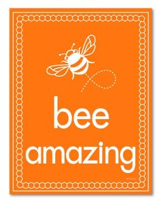 Bee-utiful Bee Prints Packed With Positivity Bee Quotes, Buzz Bee, Bee Embroidery, Embroidery Designs, Bee Creative, I Love Bees, Bees And Wasps, Bee Party, Bee Crafts