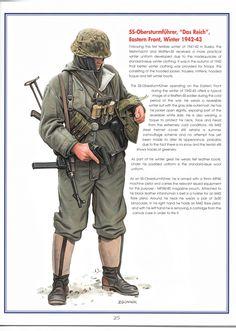1942-1943 Soldado de la SS cargando una pistola de señales