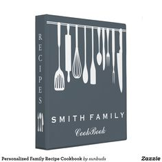 Shop Personalized Family Recipe Cookbook 3 Ring Binder created by sunbuds. Cookbook Cover Design, Recipe Book Design, Family Recipe Book, Recipe Books, Diy Recipe Book, Recipe Book Covers, Graphic Design Magazine, Cookbook Recipes, Cookbook Ideas
