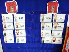 Word Family sort for pocket chart