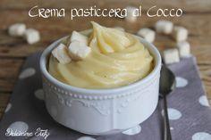 Una golosissima Crema pasticcera al Cocco..cremoso e fantastica da gustare :D