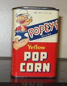 Vintage Candy, Vintage Tins, Vintage Antiques, Retro Vintage, Vintage Food, Vintage Ladies, Old Advertisements, Retro Advertising, Popeye And Olive