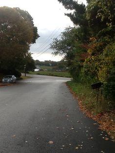 Down Meadow Ridge Road Westerly Rhode Island, Ridge Road, Sidewalk, Country Roads, Side Walkway, Walkway, Walkways, Pavement