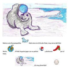 "MATERIALES - ""Robi, la foca"" Historia interactiva para trabajar las emociones. http://arasaac.org/materiales.php?id_material=620"