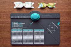 Make Bows using envelope punch board