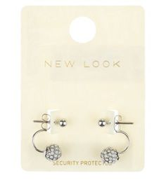 Free delivery available today - Shop the latest trends with New Look's range of women's, men's and teen fashion. White Opal, Teen Fashion, Belly Button Rings, New Look, Hair Accessories, Detail, Earrings, Bags, Clothes