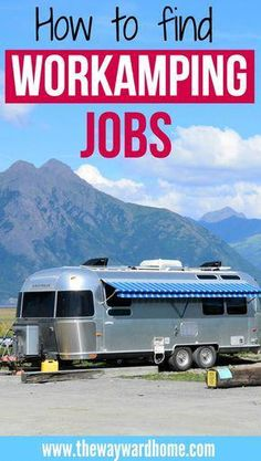 Here are some tried and true ways to find workamping jobs from a fulltime RVing couple. Learn more about workamping RV living! Travel Jobs, Ways To Travel, Rv Travel, Best Places To Travel, Travel Alone, Camping Checklist, Tent Camping, Camping Hacks, Camping Gear