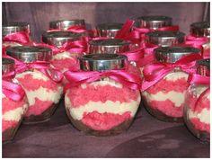 Unique Wedding Favor- cupcakes in a jar