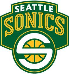 The final logo of the SuperSonics  New team in #Seattle ??  Sports  #NBA