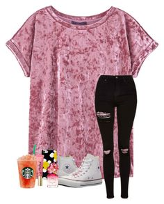 """""""So ready for Spring"""" by emily1321 ❤ liked on Polyvore featuring MANGO, Topshop, Converse, Marc Jacobs and Too Faced Cosmetics"""