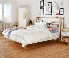 Bett mit Stauraumkopfteil online bestellen bei Tchibo 340482