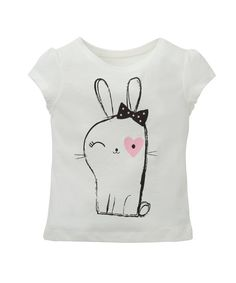 Cute Bunny T-Shirt - t-shirts - Mothercare