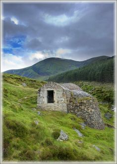 Glen River Ice House, Mourne Mountains , Co. Down