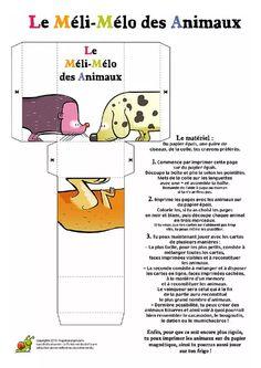 Méli Mélo des Animaux Map, Reading, Children, Location Map, Maps