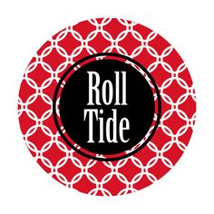 So cute - #Bama Roll Tide Gameday Buttons. 2 for $16