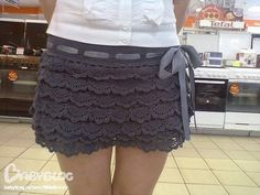 Crochet Mini Skirt Pattern try yourself,get mum to make it or just nick the look and shop til you find one,key trend in 2014