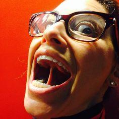 All Gina, all the time.because we all need more Gina! Gina Gershon, Friday, Glasses, Eyewear, Eyeglasses, Eye Glasses