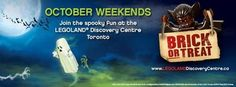 Brick or Treat is a Halloween event in LEGO Land Toronto