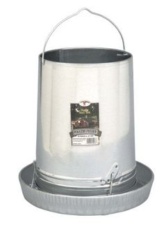 Little Giant Outdoor Living Hanging Poultry & Gamebird Feeder with Feed Pan, 30 - http://pets.goshoppins.com/backyard-poultry-supplies/little-giant-outdoor-living-hanging-poultry-gamebird-feeder-with-feed-pan-30/