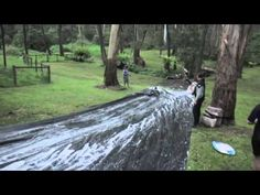 SLIP N SLIDE! Super huge thanks to Steve Barr who organised this event! Thanks for all who attended the activity, no one was critically injured in the. Slip N Slide, World, Videos, The World