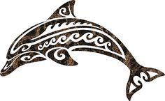 Tribal Dolphin Porcelain Swimming Pool Mosaic x Tribal Dolphin Tattoo, Tribal Animal Tattoos, Tribal Drawings, Orca Tattoo, Dolphins Tattoo, Hawaiian Tribal Tattoos, Tribal Animals, Arte Tribal, Tribal Art