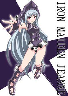 Shaman King Iron Maiden Jeanne 「あみつき作 アイアンメイデン・ジャンヌ」/「あみつきジャック」のイラスト [pixiv] http://www.pixiv.net/member_illust.php?mode=medium&illust_id=55167445