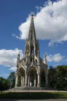 Memoriaal van Leopold I, Park van Laken in Brussel-Laken/ Mémorial de Léopold I, parc de Laeken à Bruxelles-Laeken  (foto/photo: A. de Ville de Goyet, GOB/SPRB)
