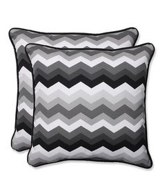 Loving this Panama Wave Throw Pillow - Set of Two on #zulily! #zulilyfinds