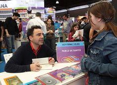 Pablo De Santis, escritor argentino.