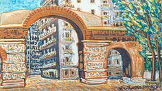 The Arch of Galerius by Dinos-Art Thessaloniki, User Profile, Arch, Photo And Video, Drawings, Longbow, Sketches, Drawing, Wedding Arches