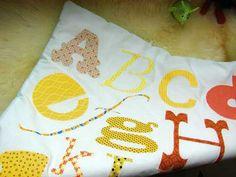 What a cute alphabet baby quilt
