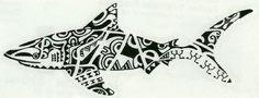 Polynesia, Maori, Tribal, Shark