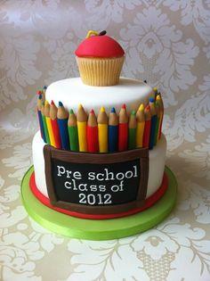 End of school cake! So cute!