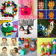 10 fantastic egg carton crafts round up We love howeveryday objects become craft materials – take the egg carton, or smaller egg box! LOOK at what you can do with them! We've picked 10 fab egg carton crafts for you…