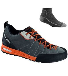 Scarpa Men s Gecko Approach Shoes Shark Tonic w  Socks - 44.5    Want 03756a1e41b