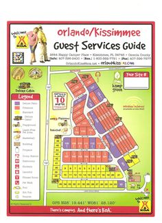 Activities, attractions and events for the Orlando / Kissimmee KOA RV Park in Florida